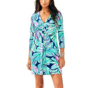 NWT Lilly Pulitzer Amina Dress in Dancing Lady